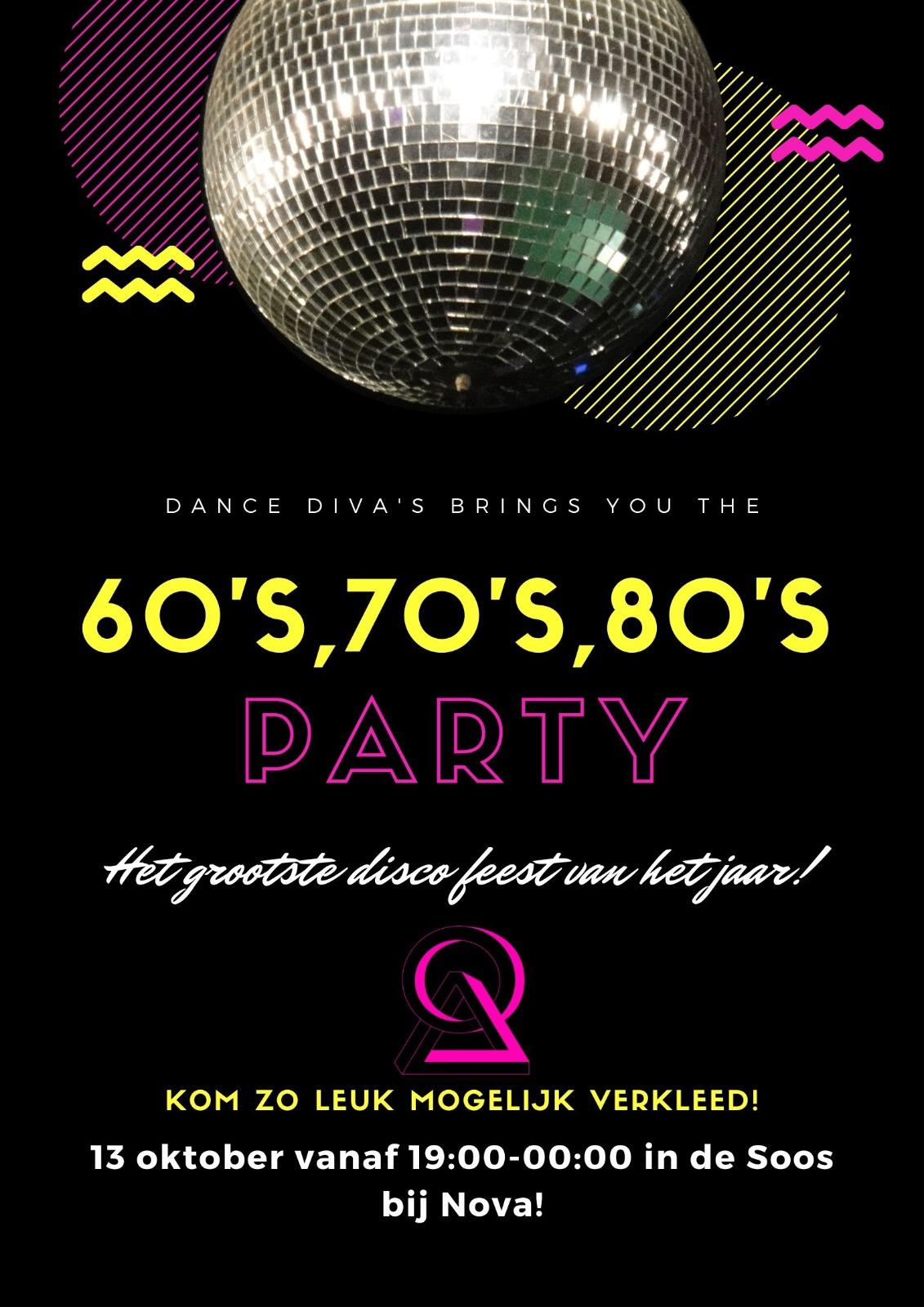 60's, 70's, 80's Party