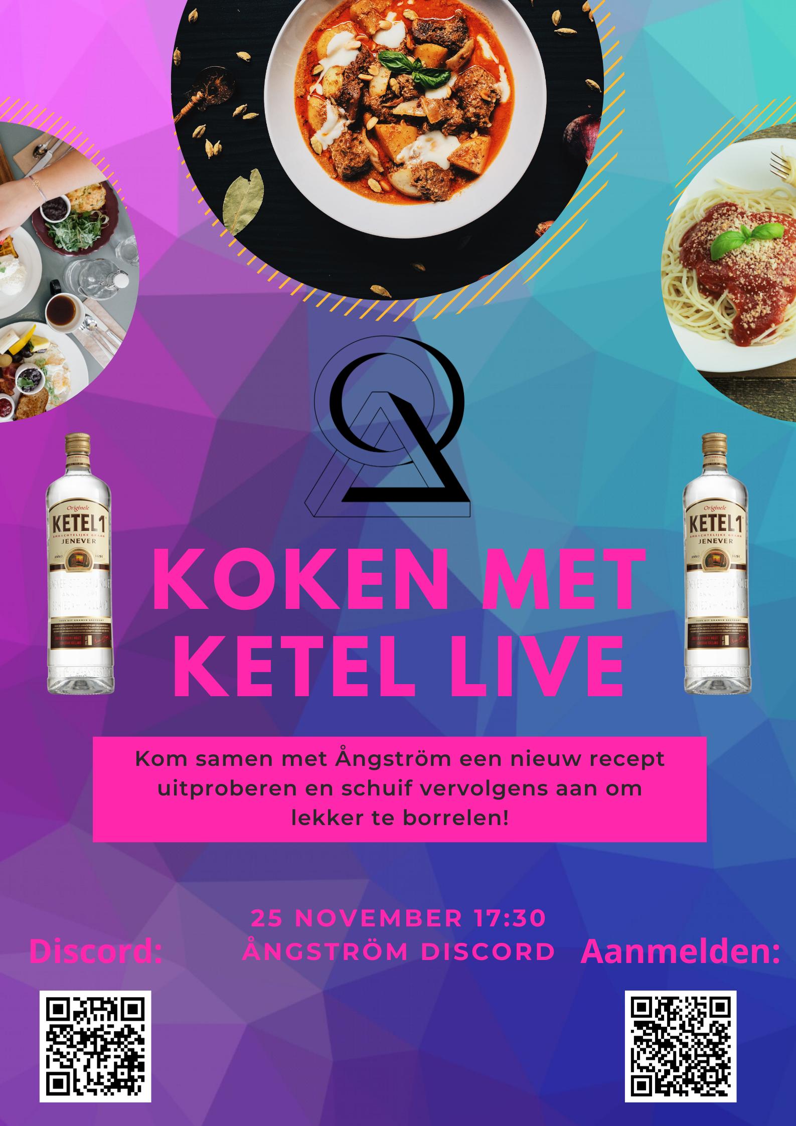 Koken met Ketel LIVE