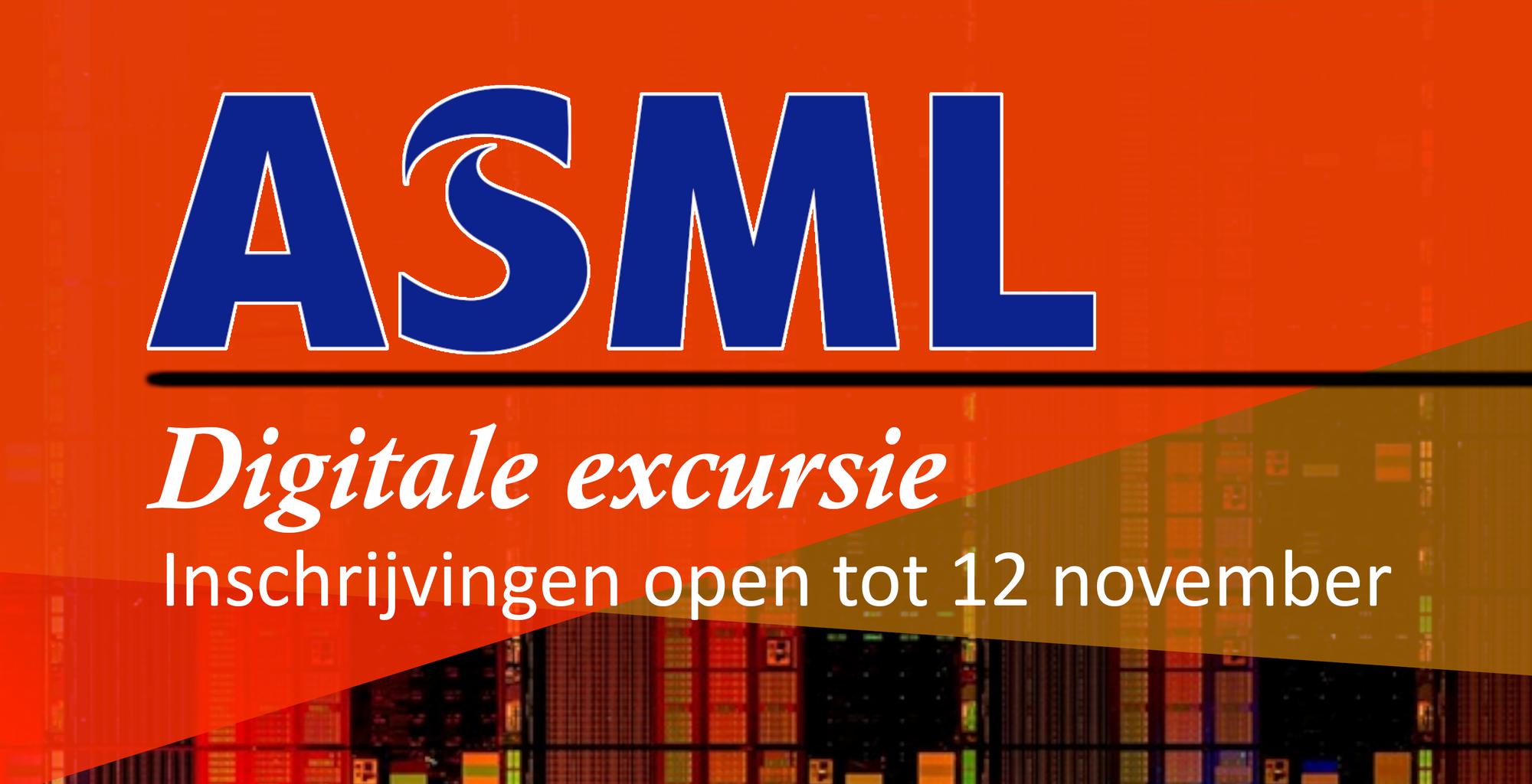 ASML Online excursie